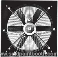 WALL MOUNTED AXIAL FLOW FANS