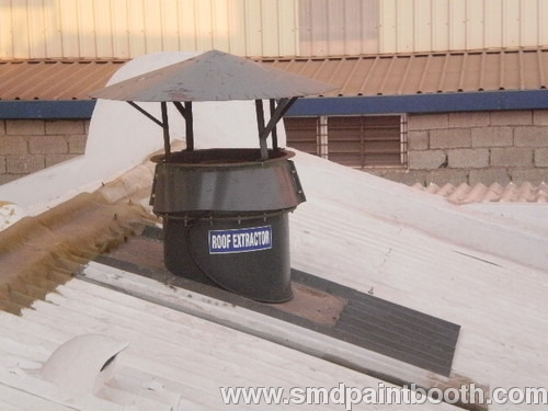 ROOF MOUNTED AXIAL FLOW FANS
