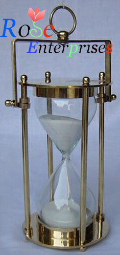 Brass Sand Timer with Handle
