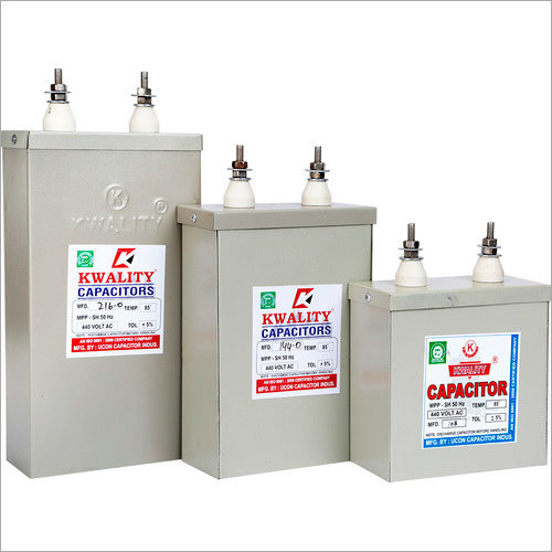Master Box Type Capacitors