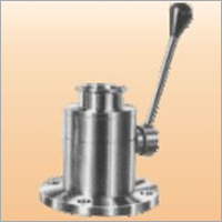 Flush Bottom Valve Ball Type