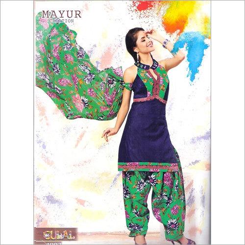 Patiyala Salwar Dress Material