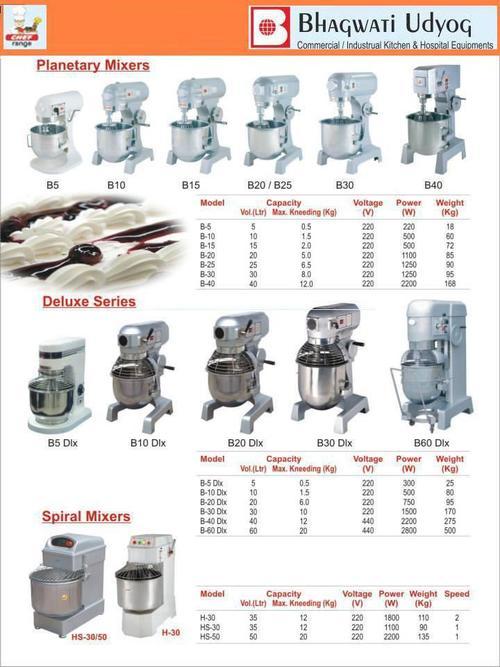 Imported kitchen equipment