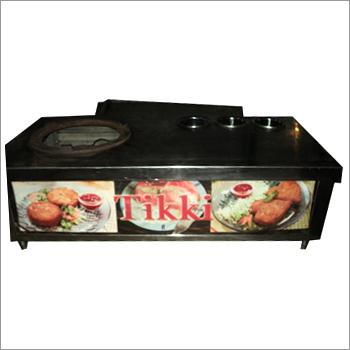 Tikki Chaat Counter