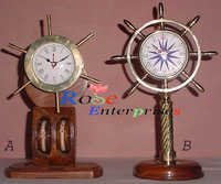 Nautical Clock with Stand