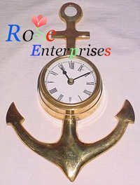 Anchors Clock