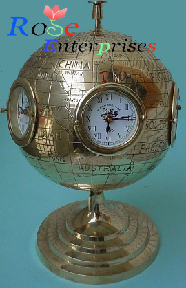 Antigue Brass Clock