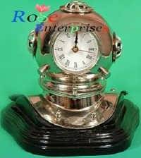 Diving Helmet with Clock