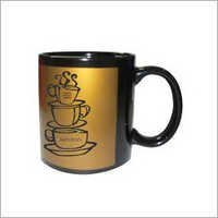 Printed Golden Mugs