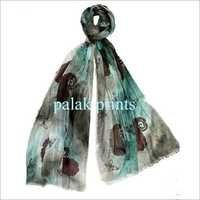 Block Printed Gauze Scarves