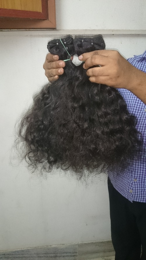 Unprocessed Virgin Human Curly Hair