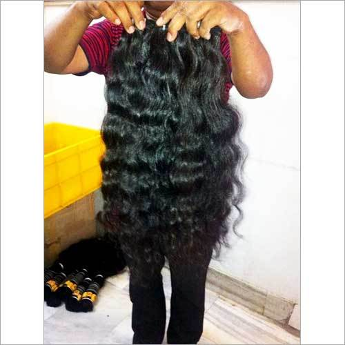 Machine Wefted Curly Human Hair