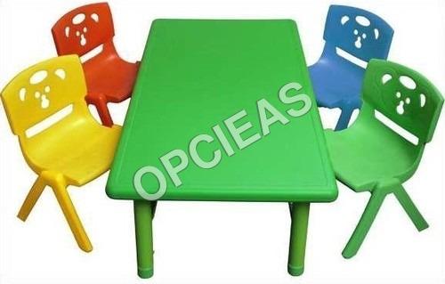 Montessori Desk and Bench