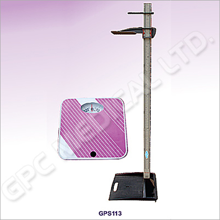 Weight Machine & Height Measuring Stand
