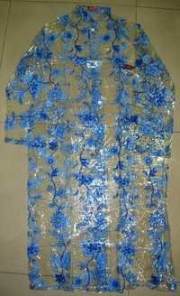 Floral PVC Raincoat