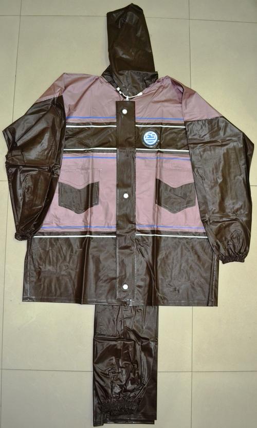 PVC Hooded Raincoats