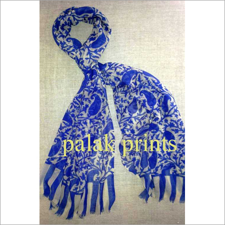 Woolen Screen Printed Shawls