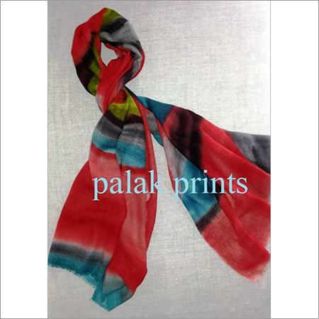 Wool Silk Printed Scarves