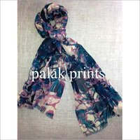 Ladies Digital Print Scarves