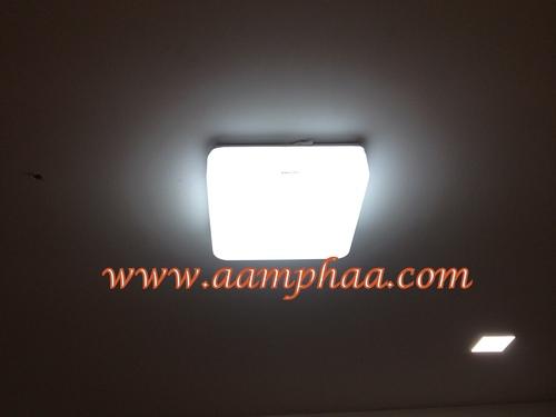 Square Glass Ceiling Light Shade