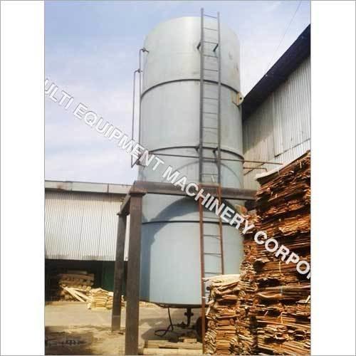 Vertical Chemical Storage Tank