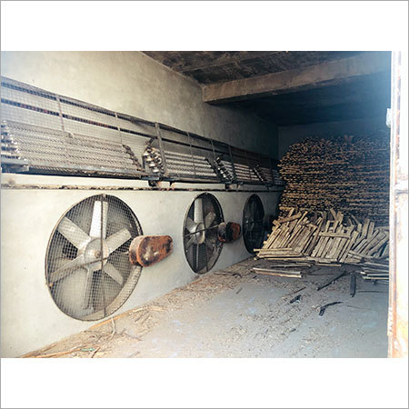 Wood Seasoning Kiln Plant