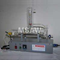Single Stage Distiller with Quartz Heater