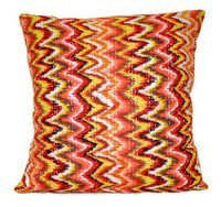 Ikat Kantha Pillow
