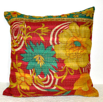 Indian Sari Pillow Cover