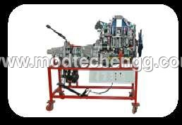 Cut Sectioned Engine Assembly With Clutch & Gear
