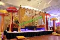 Mehndi Function Stage