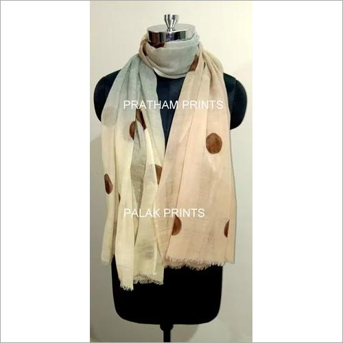 Silk Woolen Printed Scarf