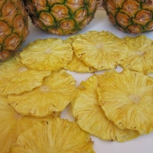 Dehydrated Pineapple Slices