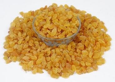 Raisins Natural Golden Green Round Medium Sangli