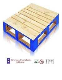 Colour wooden Pallet