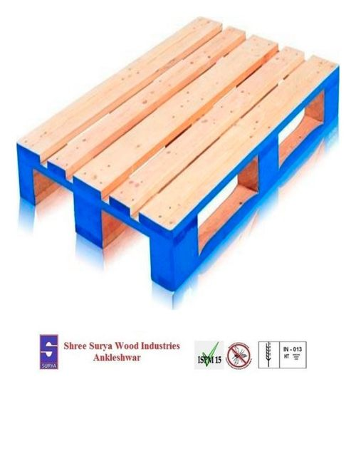 Coloured wooden Pallet