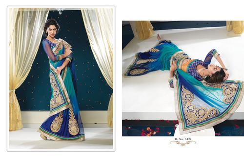 Bridal Pure Net Saree