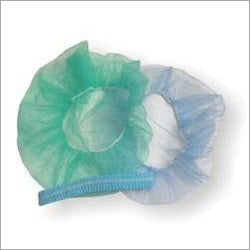 Blue And Green Disposable Surgical Cap