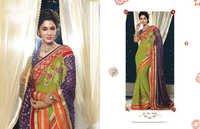 Fancy Work Design Saree