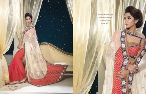 Beautiful Georgette Design Saree