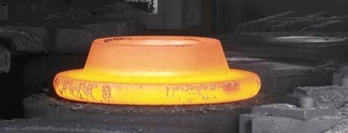 Slat Conveyor for hot components