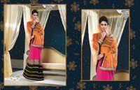 Embroidery Thread Work Saree