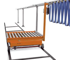Motorized Transfer Trolley