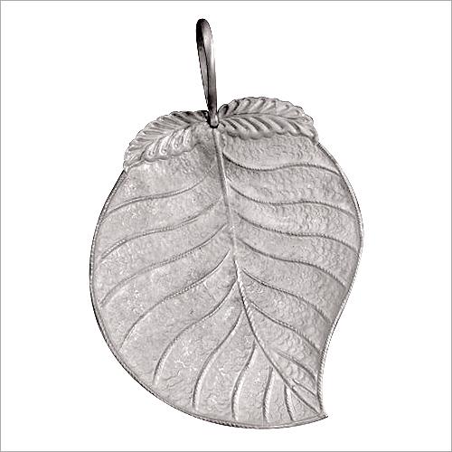 Leaf Shaped Silver Bowl
