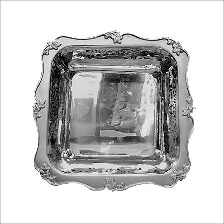 Square Shaped Silver Dongas