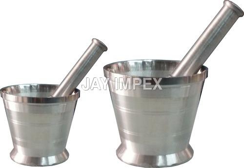 Aluminium Mortar & Pestle