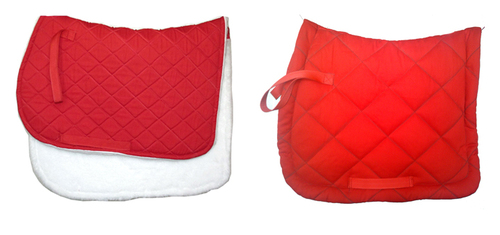 Red Saddle Pad