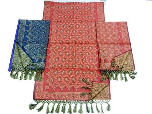 100% handloom silk scarfs