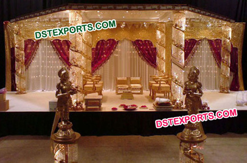 Latest Six Pillar Mandap For Wedding