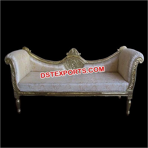 Designer Carved Wedding Stage Sofa